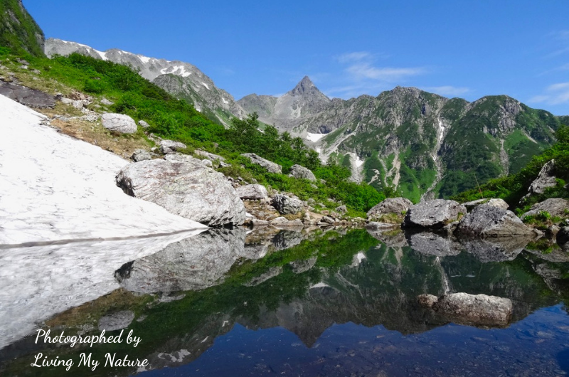 Mt.Yari and reflection