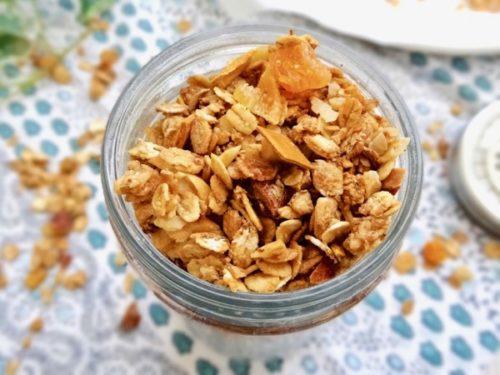 Tropical ginger amazake granola