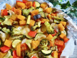 本当に美味しい! お味噌風味のオーブン焼き野菜