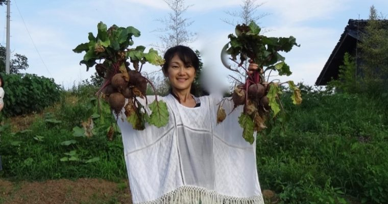 Me with beets
