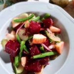 roasted beetroot and apple salad
