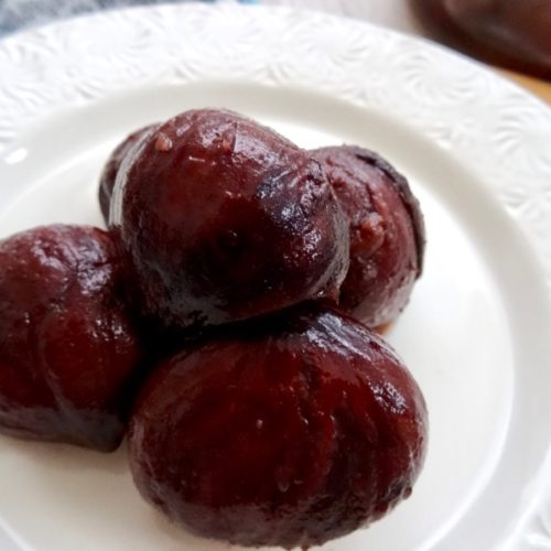 chestnut compote