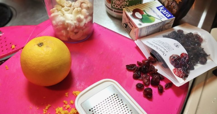 If you do not have orange peel you can substitute by adding same amount of cranberries instead, but I recommend to use orange peel in this recipe.