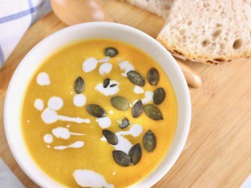 心も体も温まる バターナッツかぼちゃのほっこりスープ