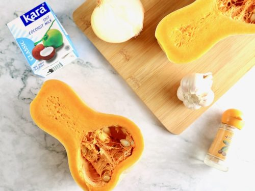 バターナッツかぼちゃのスープ 材料