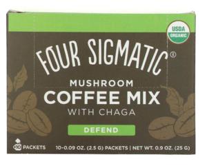 Four sigmatics アダプトゲン入りコーヒー チャガ