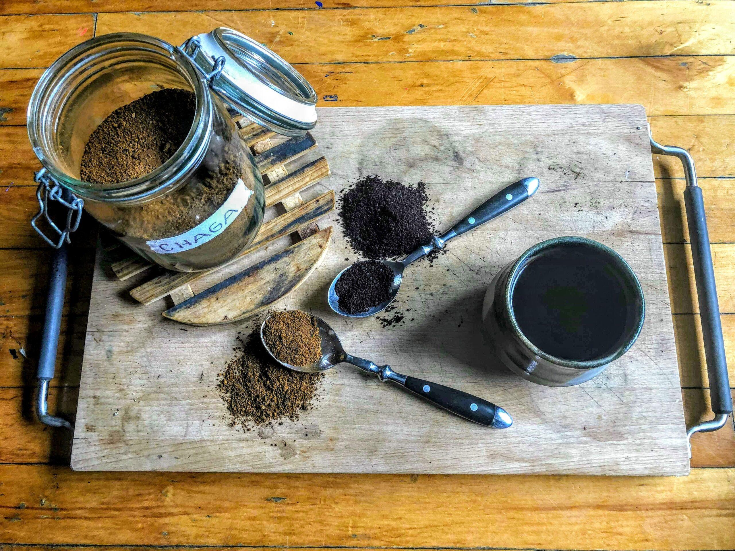 アダプトゲン入りコーヒー